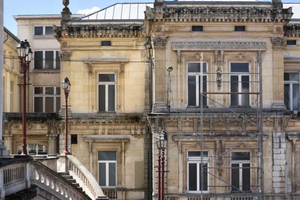 Detail van het oude Badhuis in Spa - Foto: Shutterstock