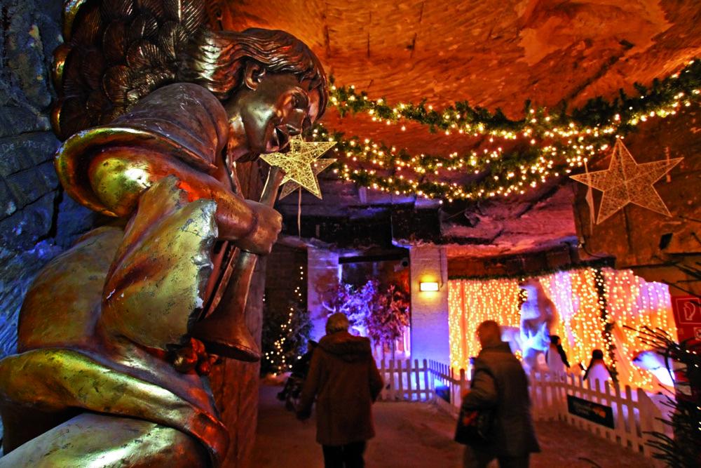 Kerstmarkt In De Grotten Van Valkenburg Foto Reis Co Reis Co