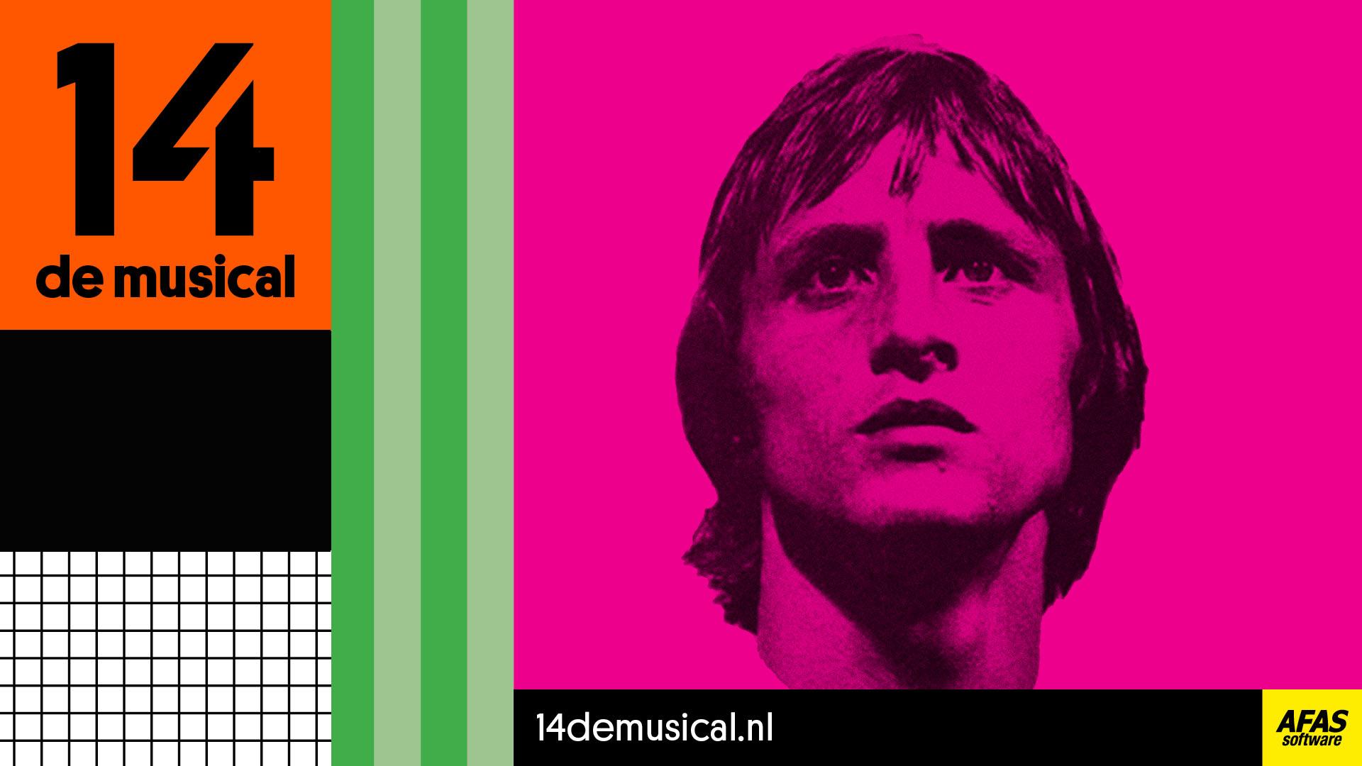 Exclusieve dagtocht naar de musical over voetballegende Johan Cruijff