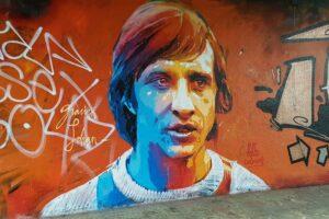 Grafiti Johan Cruijff